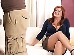 Plumper Milf Enjoys A Tough Fuck In Her Taut Caboose And Tastey Puffy Vagina