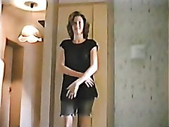 Naught milf light-haired amateur strip movie