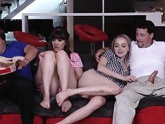 ally's daughter foot and sugar parent internal cumshot Nutting all ov
