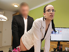LOAN4K. Elis passes grubby audition in loan agency with...