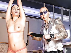 LETSDOEIT - Whipping and Restrain bondage Slapping for German MILF