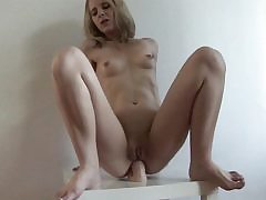 Imposing fuck stick fits is blonde's narrow anal